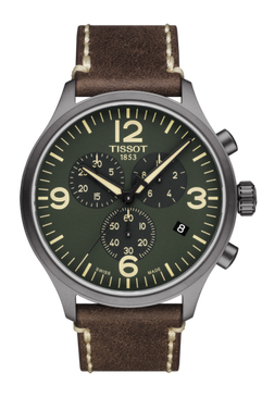 Tissot Chrono XL (Brown/Green)