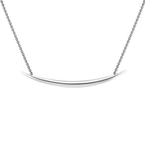 Shaun Leane Silver Quill Necklace