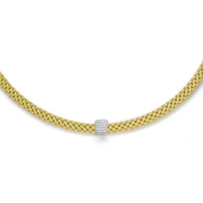 Fope 18ct Yellow gold Vendome Necklet