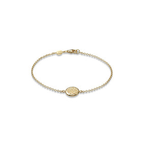 Fope Lovely Daisy 18ct Yellow Gold Bracelet