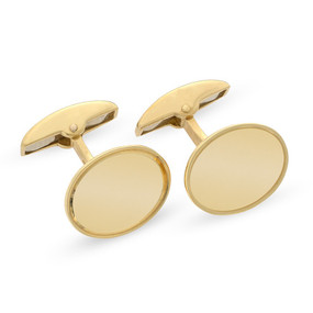 18ct Yellow Gold Cufflinks