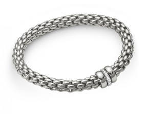 Fope Flex-it White Gold Bracelet