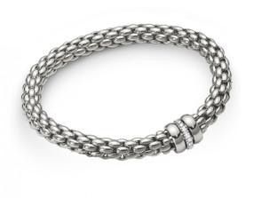 Fope Flex-it White Gold Bracelet