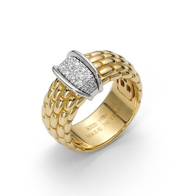 Fope Ladies Classic Lux Ring (Prices from £2335.00)