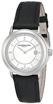 Raymond Weil Ladies Tradition Watch with a Black Strap