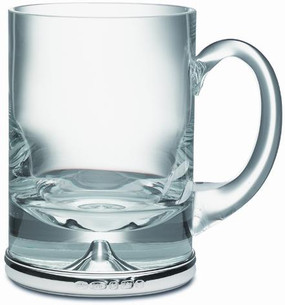 Silver and Glass Tankard