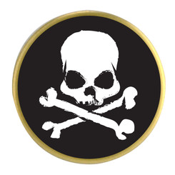 Jolly Roger Ball Marker