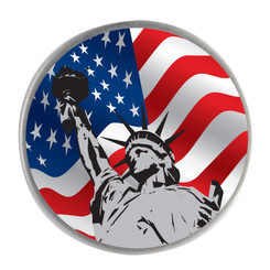 Lady Liberty Ball Marker