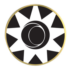 Vortex Ball Marker - Black Invert