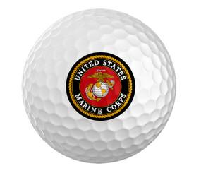Marines Golf Ball