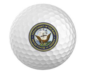 Navy Golf Ball