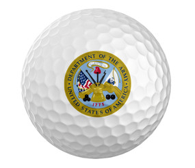Army Golf Ball