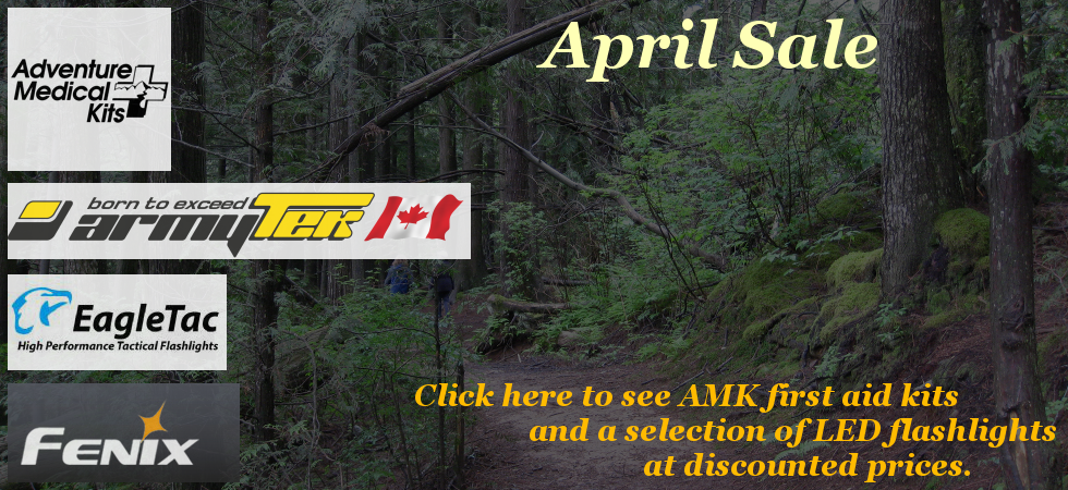 April Sale - First Aid Kits and LED Flashlights