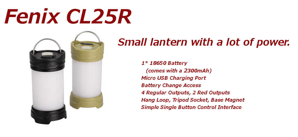 Product Highlight : Fenix CL25R