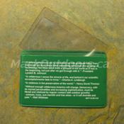 Best Glide - Fresnel Magnifier Lens