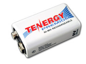 Tenergy 9V Premium Ni-MH (High Discharge)