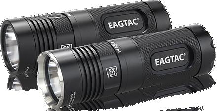 EagleTac SX25L3 - Basic (Black Bezel) and Kit (Steel Bezel)