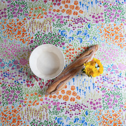 Botanical Easy-Wipe Tablecloth