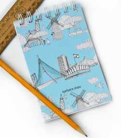 Jerusalem Notepad and Notebook