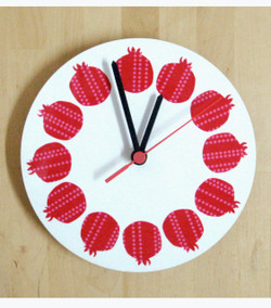 Pomegranates Clock