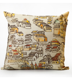 Houses Cushion
