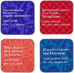 Set of 4 Coasters - Set 2