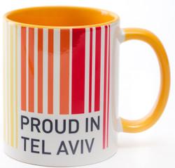 Mug - Proud In Tel-Aviv