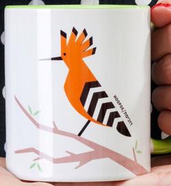 Hoopoe 'Flights of Fancy' Mug