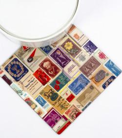 Trivet - Israeli Stamps