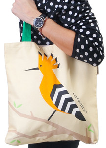 Tote Bag - 'Flights of Fancy' Hoopoe Bird