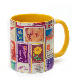 Mug - Israeli Stamp Collection Mug