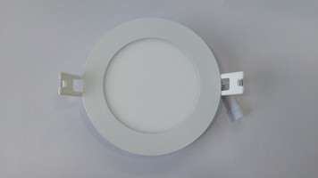 "4"" Slim LED Panel Light (Round)"