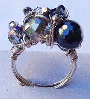 Silver Chunk Wrapped Ring