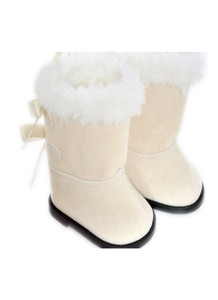 My Brittany's Ivory Hugg Boots for American Girl Dolls
