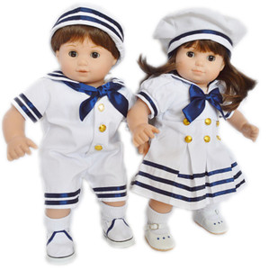 Nautical Set For American Girl Dolls Bitty Twins