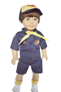 Blue Boy Scouts for 18 Inch Dolls