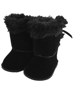 My Brittany's Black Hugg Boots for American Girl Dolls