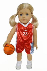 Basketball Outfit for American Girl Dolls