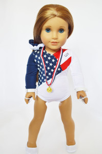 New USA Gymnastics for American Girl Dolls