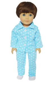 Blue Star Pj for 18 Inch Dolls