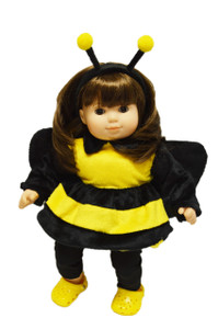 Bumble Bee Outfit For American Girl Dolls Bitty Twins