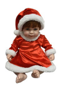 Santa Dress for Adora Dolls
