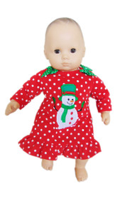 My Brittany's Snowman Pjs for American Girl Doll Bitty Baby
