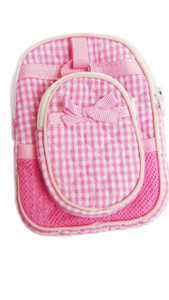 My Brittany's Pink Gingham Backpack with Lunch Box for American Girl Dolls