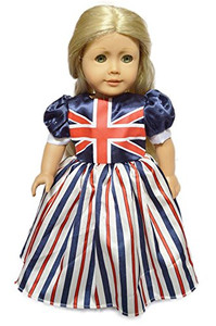 My Brittany's UK National Pride Dress for American Girl Dolls