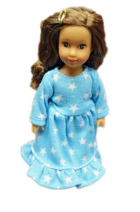 My Brittany's Mini Star Nightgown for 6 Inch Mini Dolls