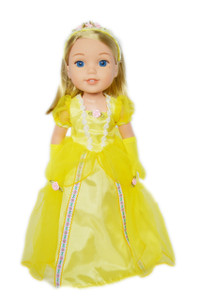 Belle Outfit for Wellie Wishers Dolls