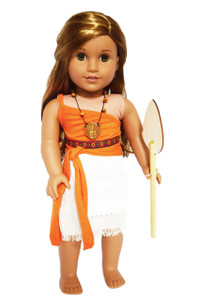 My Brittany's Moana Outfit for American Girl Dolls