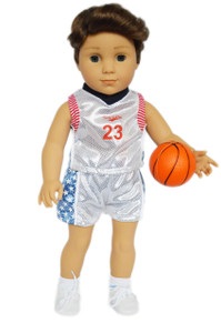 My Brittany's Basketball Outfit for American Girl Boy Dolls