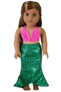 My Brittany's Mermaid Outfit For American Girl Dolls